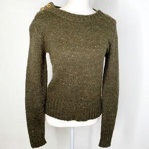 ANTHROPOLOGIE Charlie & Robin Pullover Sweater S
